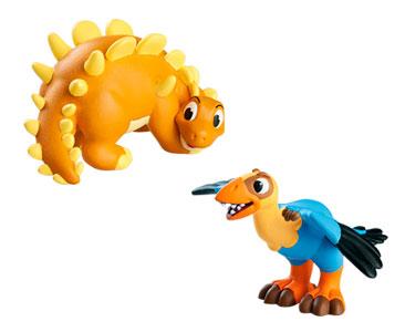 Livret 40: L'archeopteryx + Le papa archeopteryx + Le bébé kentrosaure