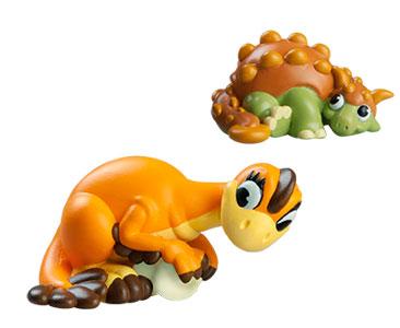 Le livret 35 : L'archelon + La maman oviraptor + Le bébé anchisaurus