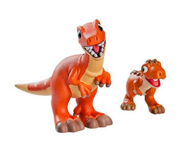 Le livret 32 : Le torvosaure + La maman megalosaurus + le bébé carnotaurus