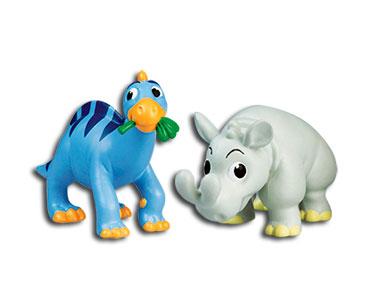 Le livret 33 : Le basilosaure + Le papa iguanodon + Le bébé brontoterium