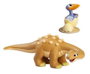 Livret 49 : Le saltasaure + La maman saltasaure + Le bébé ptérodactyle