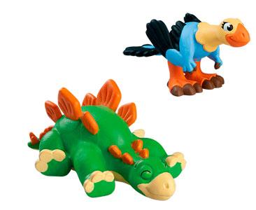 Livret 47 : Le dromornis + La maman archaeopteryx + Le bébé stegosaurus