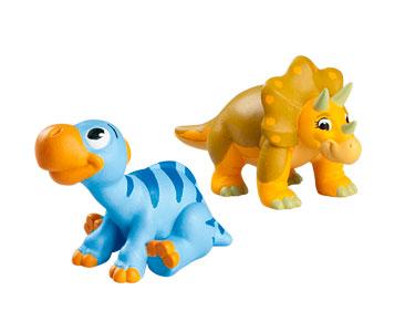 Livret 48 : Le psittacosaure + La maman triceratops + Le bébé iguanodon