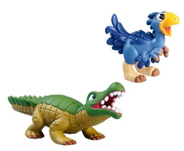 Livret 45 : Le sarcosuchus + Le bébé therizinosaurus