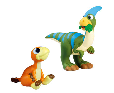 Livret 52 : Le parasaurolophus + Le bébé oviraptor + Le papa parasaurolophus