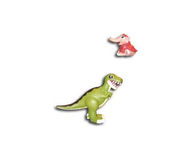 Livret 3 : Le tyrannosaure + Le papa tyrannosaure + Le bébé mammouth