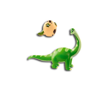 Livret 2 : Le brontosaure + La maman brontosaure + L'oeuf de dinosaure