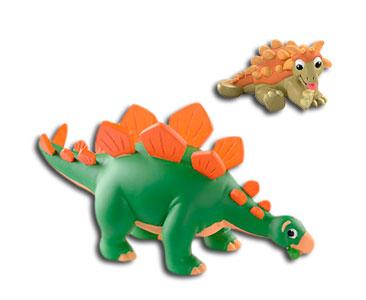 Le livret 8 : Le stégosaure + Le bébé ankylosaure + Le papa stégosaure