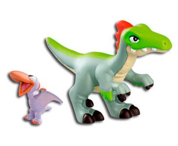 Le livret 7 : Le velociraptor + Le papa velociraptor + Le bébé  ptérodactyle