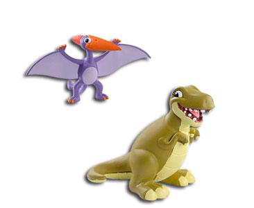 Le livret 5 : Le ptérodactyle + La maman ptérodactyle + Le papa t-rex