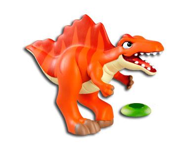 Le livret 12 : Le spinosaure + La paume (partie inférieur) + Le papa spinosaure