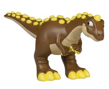 Le livret 76 : Le majungasaure + Le papa majungasaure