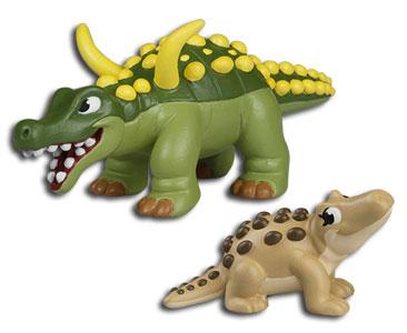 Le livret 77 : Un gamin très effronté + Le papa desmatosuchus + Le bébé mastodonosaurus