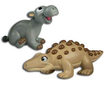 Le livret 78 : Le mastodontosaure + la maman mastodontosaure + le bébé morupus
