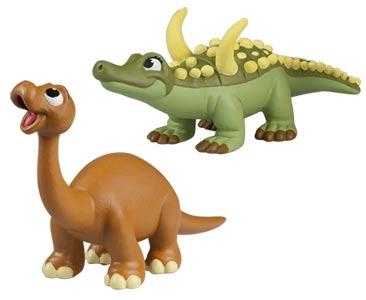 Le livret 72 : Le desmatosuchus + La maman desmatosuchus + Le bébé diplodocus