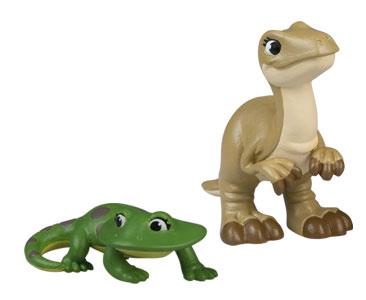Le livret 64 : A? la chasse avec maman + Le bébé diplocaulus + La maman megaraptor