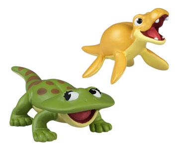 Le livret 67 : Le diplocaulus + La maman diplocaulus + Le bébé kronosaurus