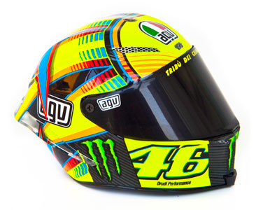 Casque 7 : Valentino Rossi - 2013 + Fascicule