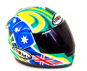 Casque 38: ??TROY BAYLISS - 2005 + Fascicule