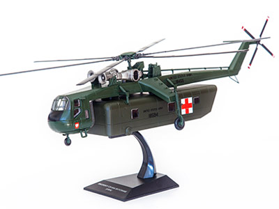Fascicule 52 + SIKORSKY CH-54A TARHE