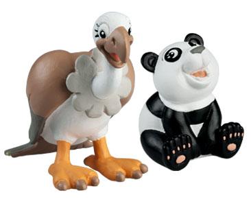 Le livret 50 : Le Coyote + La maman vautour + Le bébé panda