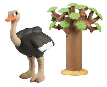 Le livret 57 : Le Kiwi + Le papa autruche + Le baobab (1ère partie)