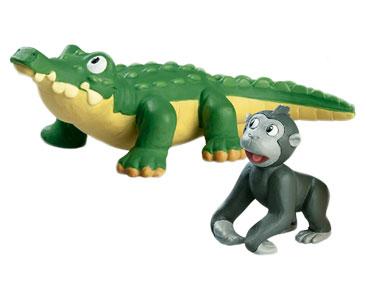 Le Livret 7 : Le Crocodile du Nil + Le papa crocodile + Le bébé gorille