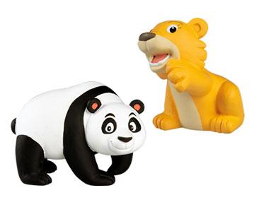 Le livret 53 : Le Renard volant  + Le papa panda + Le bébé lion