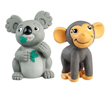 Le livret 51 : Le Lézard Basilic + Le papa koala + Le bébé chimpanzé