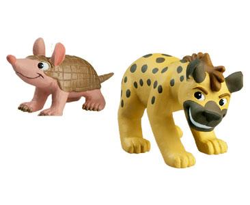 Le livret 11 : La Hye?ne + Le papa hye?ne + le bébé armadille