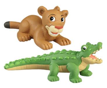 Le livret 48 : Le Diable de Tasmanie + La maman crocodile + Le bébé cougar