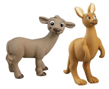 Le livret 49 : Le Scorpion + Le papa kangourou + Le bébé buffle
