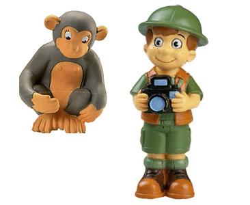 Le livret 15 : Le Chimpanzé + La maman de chimpanzé + Le bébé ranger