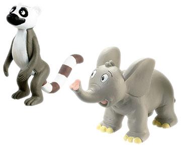 Livret 23 : Le Le?murien + Le papa lémurien + Le bébé éléphant