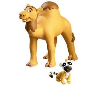 Livret 25 : Le Dromadaire + Le papa dromadaire + Le bébé lémur