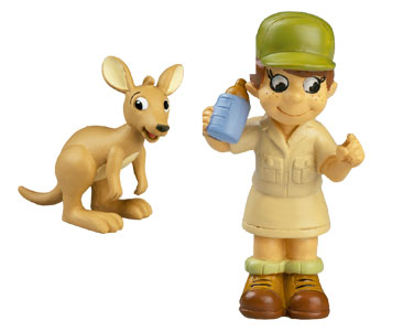 Livre 35 : ???La Tarentule + Le bébé kangourou + La fille ranger