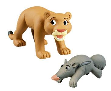 Livre 34 : ???Le Puma + La maman puma + Le bébé fourmilier