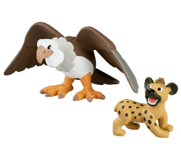 Livre 33 : Le Vautour + Le papa vautour + le bébé hyène