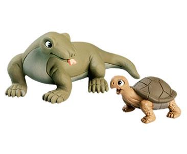 Livret 28 : Le Dragon de Komodo ???????????????+ Le bébé tortue + Le papa dragon de Komodo