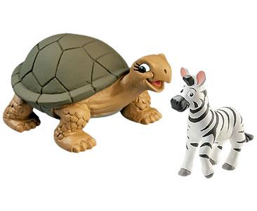 Livret 26 : La Tortue des Gala?pagos + La maman tortue + le bébé zèbre