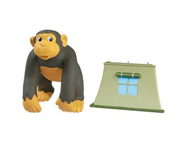 Livret 27 : L'Orang-Outan de Borne?o + Le papa chimpanzé + La tente du Ranger (2ème partie)