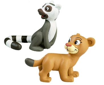 Le livret 42 : La Grenouille de Madagascar + La maman lémur + Le bébé puma