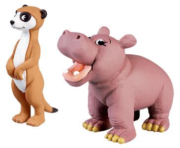 Le livret 37 : Le Suricate ??????????+ Le papa suricate + Le bébé hippopotame