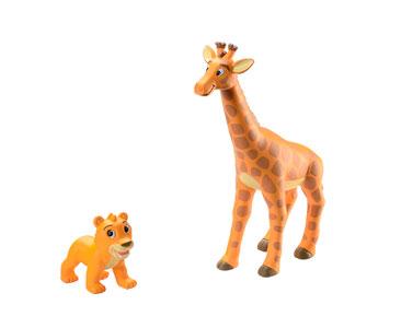 Le Livret 2 : La Girafe + La maman girafe + Le bébé lion