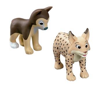 Le livret 69 : Les Arbres + La maman lynx + Le bébé loup