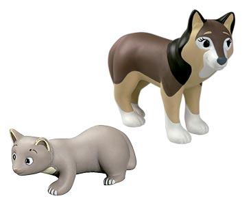 Le livret 65 : Le Loup + La maman loup + Le bébé martre