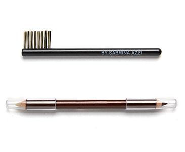 Le fascicule 9 + Crayon + Pinceau peigne brosse pour les Sourcils + Crayon sourcils duo crayon marron et gel fixant