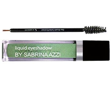 Le fascicule 6 + L'ombre a? paupie?res liquide de couleur verte + L'applicateur de mascara/eyeliner