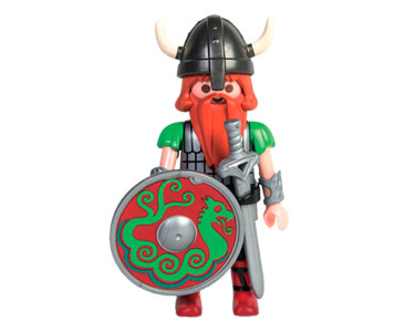 Le livret 14 : Les Vikings + 2 Fiches de jeu + Figurine