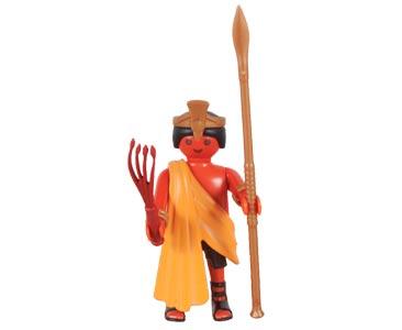 Le livret 54 : Les mayas + 2 Fiches de jeu + Figurine